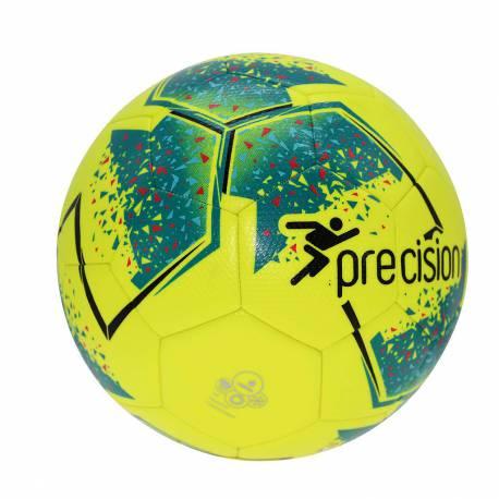 Voetbal Precision Fusion geel blauw