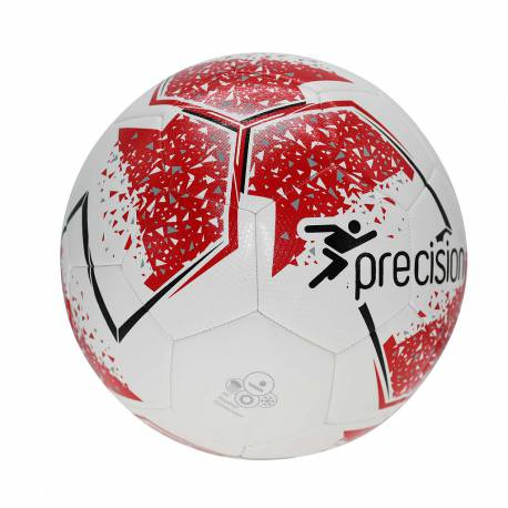 Voetbal Precision Fusion wit rood