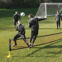 Voetvolley Net Verstelbaar Precision Training
