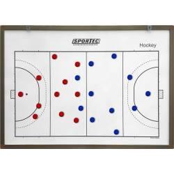 Coachbord Hockey Magnetisch Sportec