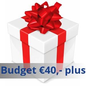 Budget €40 en meer