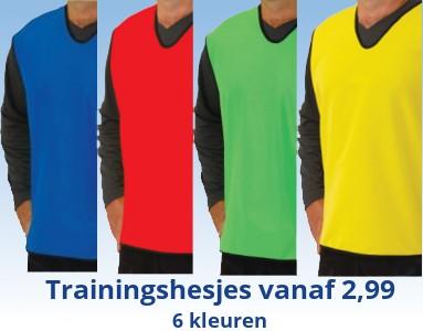 Trainingshesjes en Voetbalhesjes kopen?